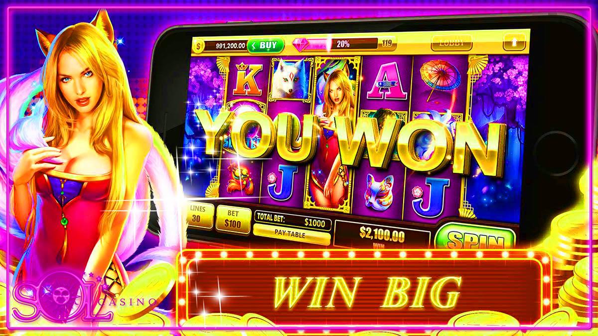 Фееричные игры в автоматы на сайте Сол казино на деньги с легким выводом заработка с помощью популярных платежных систем